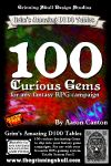 RPG Item: 100 Curious Gems for any Fantasy RPG Campaign