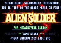 Video Game: Alien Soldier