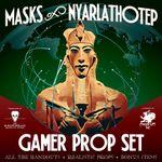 RPG Item: Masks of Nyarlathotep Gamer Prop Set