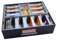 Board Game Accessory: Marvel Champions: The Card Game – Folded Space Insert