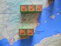Pompey's units in Spain. Starting setup