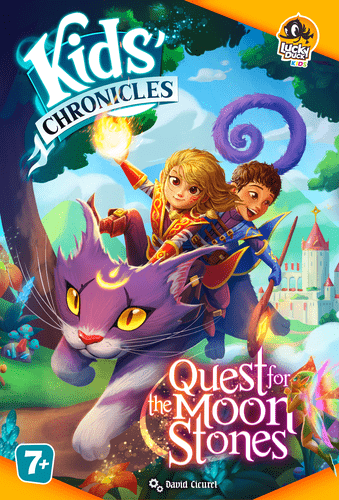 Board Game: Kids' Chronicles: Quest for the Moon Stones