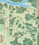 Initial Shiloh map from Columbia Games