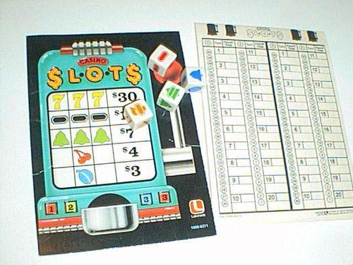 Board Game: Casino Slots