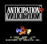 Video Game: Anticipation