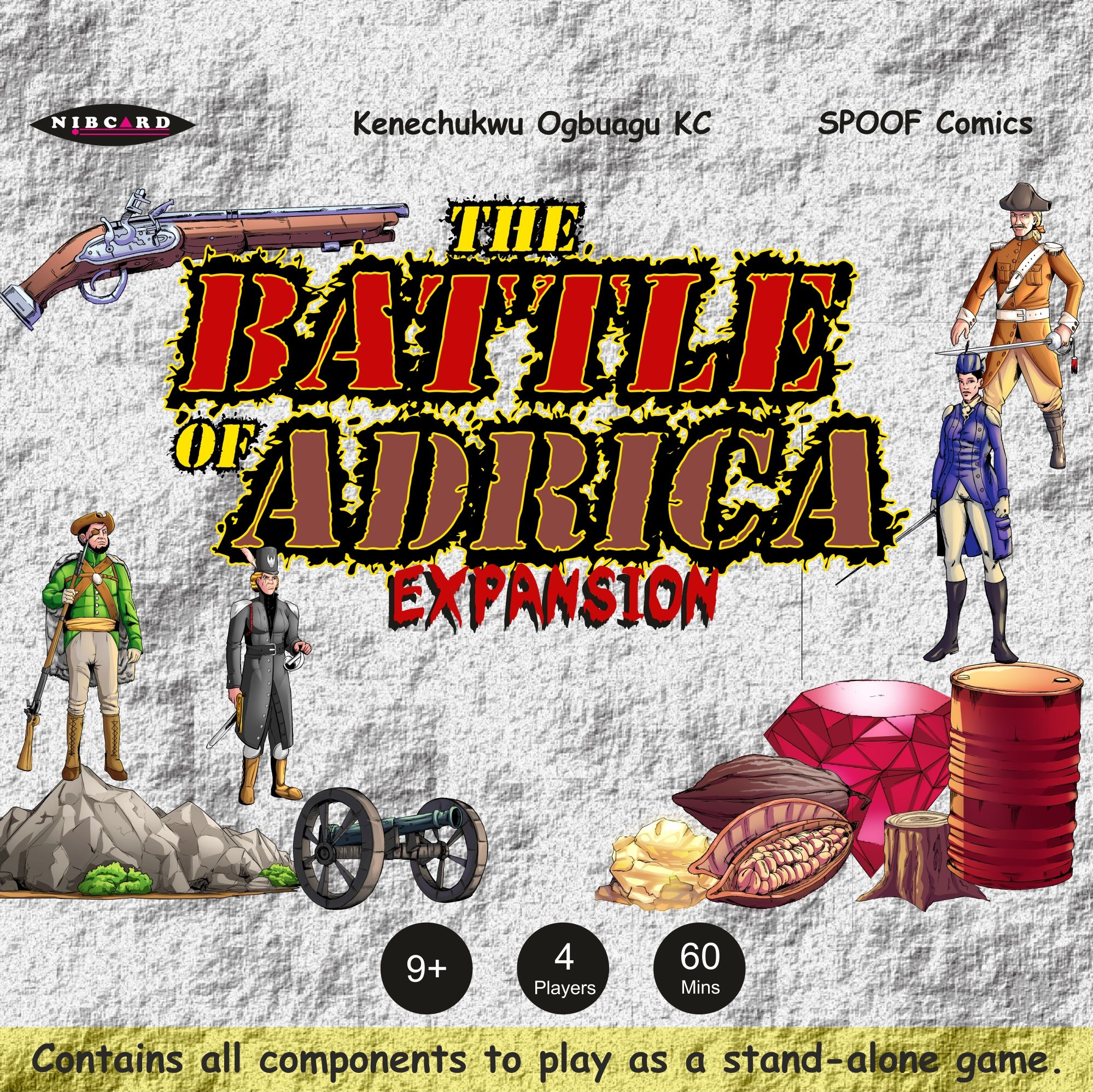 Battle of Adrica: Expansion