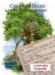 RPG Item: Creature Decks: 54 Fey, Constructs & Wildlife (Pathfinder)