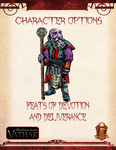 RPG Item: Character Options: Feats of Devotion and Deliverance