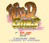 Video Game: Wild Guns (1995)