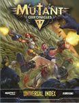 RPG Item: Mutant Chronicles Universal Index