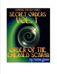 RPG Item: Secret Orders Vol. 1: Order of the Emerald Scarab