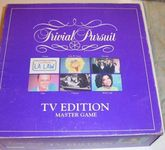 Board Game: Trivial Pursuit: TV Edition – Master Game