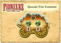 Board Game: Pioneers: Queenie 3 – The Farmers