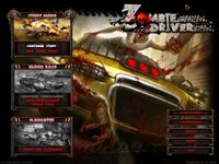Video Game: Zombie Driver