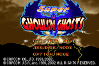 Video Game: Super Ghouls 'n Ghosts