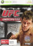 Video Game: UFC 2009 Undisputed
