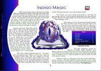 RPG Item: Colours of Magic: Indigo Magic (D20)