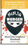 RPG Item: Ninja Burger Honorable Employee Handbook