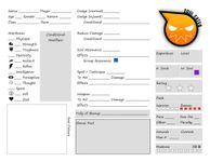 RPG Item: Soul Eater Character Sheet