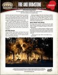 RPG Item: Fire and Brimstone