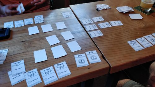 Board Game: Taghaza: The Salt Mines