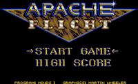 Video Game: Apache Flight