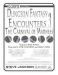 RPG Item: GURPS Dungeon Fantasy Encounters 3: The Carnival of Madness
