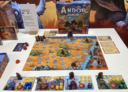 Board Game: Andor: The Family Fantasy Game
