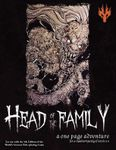RPG Item: Head of The Family: A One Page Adventure (5E)