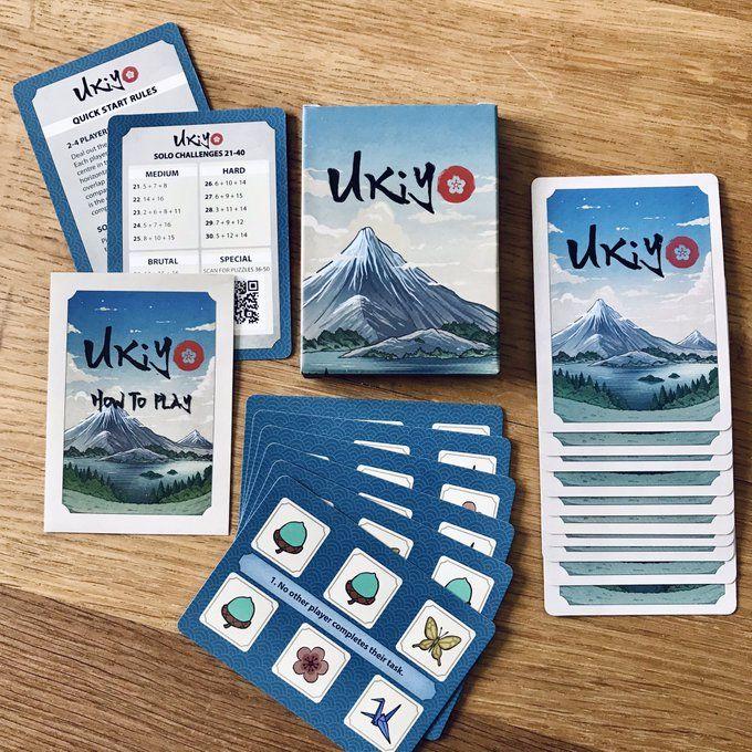 Board Game: Ukiyo