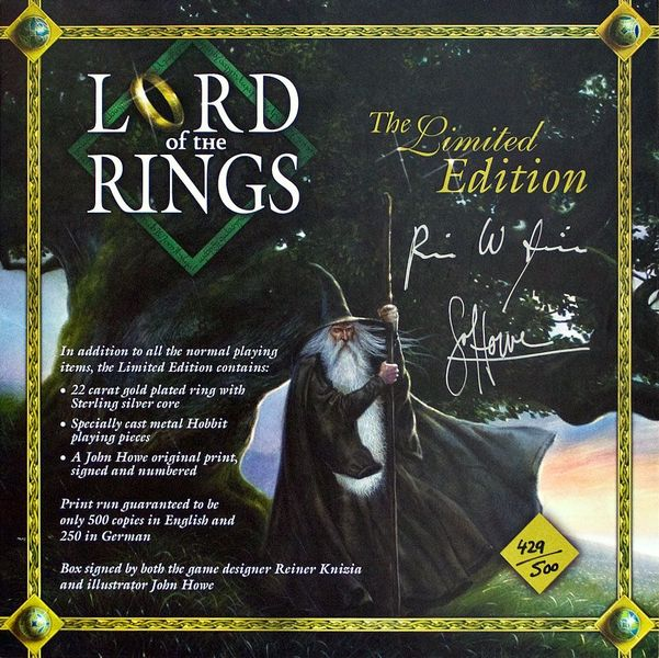 Lord of the Rings - Limited Edition cover