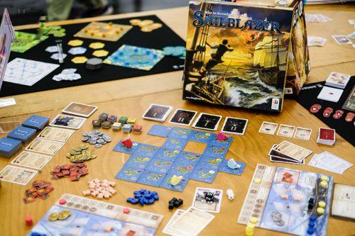 Board Game: Sailblazer