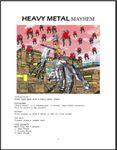 Board Game: Heavy Metal Mayhem