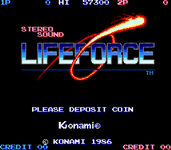 Video Game: Life Force
