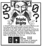 Video Game: Triple Digits