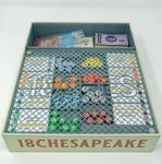 Board Game Accessory: 18Chesapeake: 3D Printed Organizer