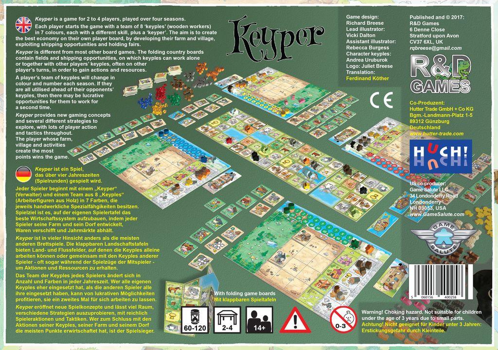 Board Game: Keyper