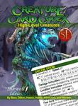 RPG Item: Creature Card Codex: High-Level Creatures