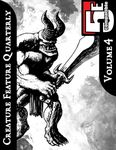 RPG Item: Creature Feature Quarterly Volume 4