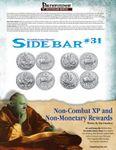 RPG Item: Sidebar #31: Non-Combat XP and Non-Monetary Rewards