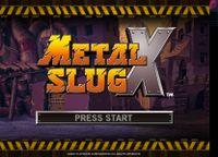Video Game: Metal Slug X