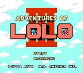 Video Game: Adventures of Lolo 3