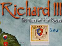 Richard Plantagenet, Duke of Gloucester: the historical King Richard III, but will he become king in the game? (5th royal heir for the York player)