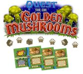 Board Game: Tiny Epic Quest: Quest for the Golden Mushrooms