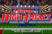 Video Game: Super High Impact