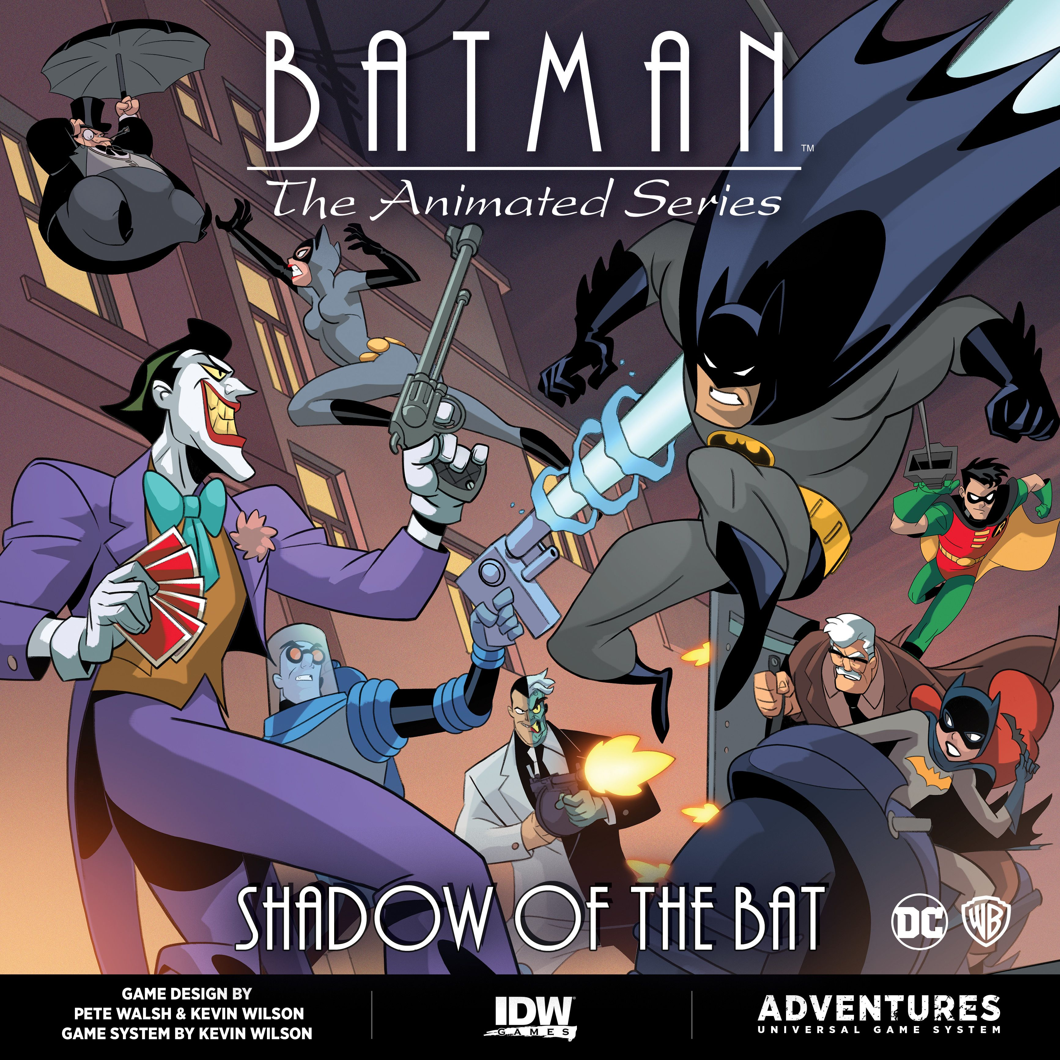 Batman: The Animated Series Adventures – Shadow of the Bat