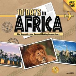 10 Days in Beautiful Africa boardgame