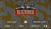 Video Game: Tank Battle: Blitzkrieg