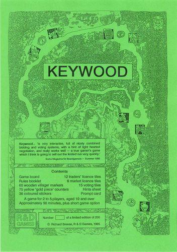 Board Game: Keywood