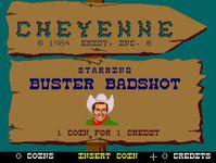 Video Game: Cheyenne